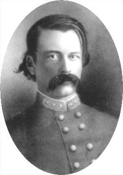 Confederate General John Adams, killed at the 2nd Battle of Franklin, 1864