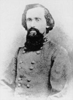Confederate General Otho Strahl, killed at Franklin